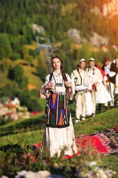 Traditional Albanian clothing - Page 4 Folk Fashion, Ethnic Fashion, Albanian People, Albanian Culture, Visit Albania, Costumes Around The World, Art Populaire, Europe, Thinking Day
