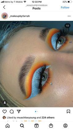 Beautiful Eye Makeup, Beautiful Body, Pretty Makeup, Makeup Hacks, Makeup Ideas, Makeup Tips, Eyeshadow Looks, Eyeshadow Makeup, Beauty Tips