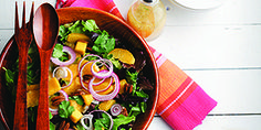 Celebrate March with these healthy recipes from our CanolaInfo Test Kitchen! Mixed Greens, Mango and Pecan Salad Healthy Living Recipes, Healthy Salad Recipes, Fruit Recipes, Diabetic Recipes, Diet Recipes, Kosher Recipes, Cooking Recipes, Best Salads Ever, Recipe Details