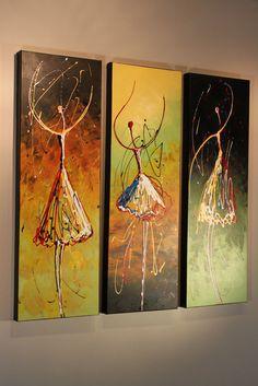 2015 Studio Mojo Artwork Original 17 Abstract Dancers