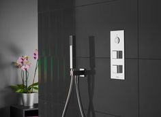 Buy Aqualisa Infinia 5 Smart Shower with Handset and Drencher, Silver from our Showers & Shower Heads range at John Lewis & Partners.