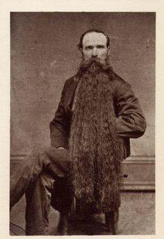 A gentleman with an impressive beard.