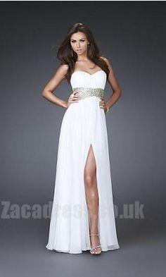 $161.99 - Cheap Chiffon La Femme 16027 Empire Formal Dresses