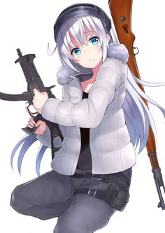 Anime girl with gun Girl Wallpaper, Mobile Wallpaper, G Photos, Star Photography, Girls Frontline, Beautiful Anime Girl, Best Funny Pictures, Game Art, Geek Stuff