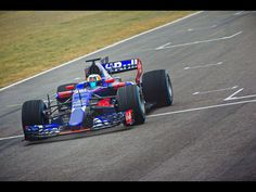 Toro Rosso STR12 race car for season 2017.
