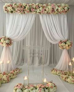23 Ideas for diy wedding reception ideas ceremony backdrop Wedding Reception Backdrop, Wedding Stage, Ceremony Backdrop, Ceremony Decorations, Wedding Centerpieces, Wedding Backdrops, Wedding Sets, Reception Ideas, Table Setting Design