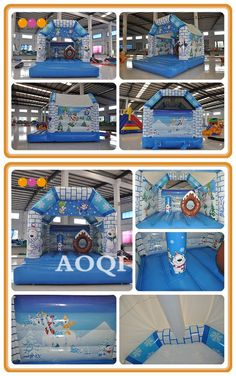 There are many polar bears in the bouncer to welcome to us. Size, color, theme all can be customized depends on your needs. Inflatable Bouncers, Polar Bears, Special Events, Party, Fun, Kids, Color, Design, Young Children