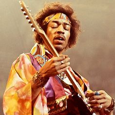 "Jimi Hendrix exploded our idea of what rock music could be: He manipulated the guitar, the whammy bar, the studio and the stage. On songs like ""Machine Gun"" or ""Voodoo Chile,"" his instrument is like a divining rod of the turbulent Sixties – you can hear the riots in the streets and napalm bombs dropping in his ""Star-Spangled Banner."""