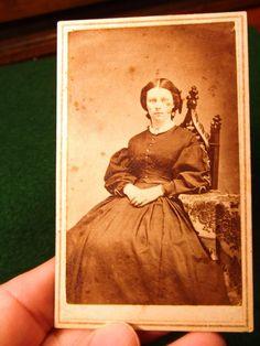 Civil War Period CDV of Woman #2