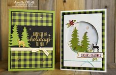 AEstamps a Latte.: Season of Style: October Paper Pumpkin kit Christmas Cards 2017, Stampin Up Christmas, Xmas Cards, Christmas Art, Holiday Cards, Stampin Up Paper Pumpkin, Pumpkin Cards, Winter Cards, Paper Cards