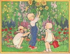 Rie Cramer. Dutch illustrator of childrens books
