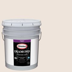 Glidden Diamond 5 gal. #HDGO35 Toasted Oatmeal Eggshell Interior Paint with Primer