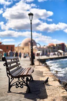 Chania old port, Crete, Greece