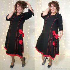 """Платье """"Маки"""" – купить в интернет-магазине на Ярмарке Мастеров с доставкой"""