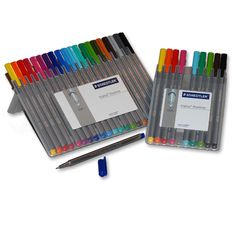 Staedtler Triplus Fineliner Sets ... LOVE these! Will be in the shop soon :)