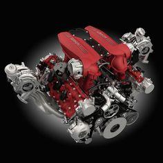 492kW / 8000rpm, 3902cc V8 турбо двигатель 760nm / 3000rpm