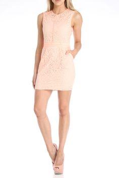 English Rose Primrose Short Cocktail Dress in Orange - Beyond the Rack