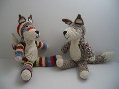Anne Claire Petit crochet foxes
