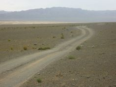 Road in Mongolia
