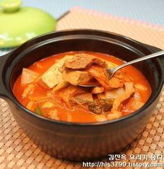 대박식당처럼 끝내주는 김치찌개 끓이는 법 *^^* :: 김진옥 요리가 좋다