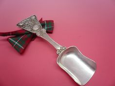 Alexander Ritchie IONA Silver Caddy Spoon from 1914 Celtic Decoration REF:183X