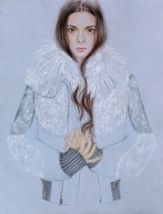 Each week, renowned artist and fashion illustrator Cédric Rivrain unveils an exclusive drawing on Style.