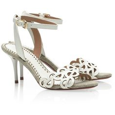 Tory Burch Aileen Sandal ($295) ❤ liked on Polyvore
