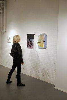 Ashlynn Browning at the PAIR opening reception at PROTO Gallery