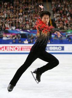 Tatsuki Machida / figure skater. The ISU World Figure Skating Championships 2014 in Saitama Japan.