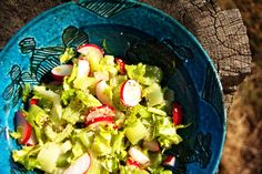 Celery and radish salad  http://artepmalash.blog.com/