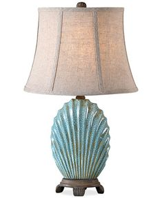 Uttermost Seashell Blue Buffet Table Lamp - Lighting & Lamps - For The Home - Macy's