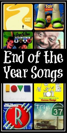 End of the Year Songs {A Preschool Playlist} -- 20 hand-picked songs for use at the end of the school year! Appropriate for preschoolers, kindergartners, and home schoolers, alike (even older ages)! Great for end of the year ceremonies, programs, and gr