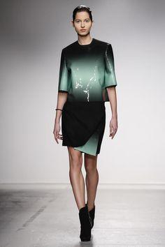 Amaya Arzuaga Ready To Wear Fall Winter 2014 Paris Live Fashion, Fashion Show, Fashion Design, Runway Fashion, Womens Fashion, Paris Fashion, Fashion Artwork, Glamour, Fall Winter 2014