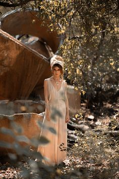 Fear not the Beauty that lies in the Unknown. In the power is compassion. In her fierceness you find warmth. Alisa Belochkina in our Sand Kate Dress Gypsy Style, Bohemian Style, Boho Chic, Boho Fashion, Luxury Fashion, Fashion Design, Winter Fashion, Sustainable Clothing, Sustainable Fashion