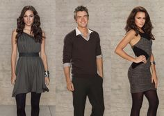 Jana Kramer (Alex Dupre) , Robert Buckley (Clayton Evans) , & Shantel VanSanten (Quinn James) - One Tree Hill