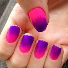 Nails This Week - Pink & Purple Ombre - Nails For Nickels Dot Nail Art, Polka Dot Nails, Neon Nails, Pastel Nails, Purple And Pink Nails, Purple Ombre Nails, Blue Nails, White Nails, French Nails