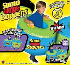 Big Time Toys Sumo Bumper Boppers More fun than bumper cars or a pillow fight, our inflatable Sumo Bumper Boppers set has a fun, bop and sock design! Outdoor Toys For Boys, Outdoor Play, Sports Games For Kids, Pillow Fight, Childrens Gifts, All Kids, Best Christmas Gifts, Christmas 2016, Peppa Pig