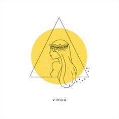 virgo Virgo Art, Zodiac Art, Virgo Zodiac, My Zodiac Sign, Sagittarius, Meadow Soprano, Virgo Memes, Virgo Star Sign, Star Illustration