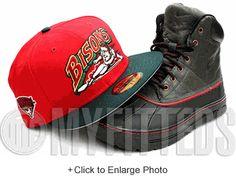 Buffalo Bisons Scarlet Pine Green Gold MiLB International League Side Patch New  Era Hat UP NOW 0dbd1f1d1092