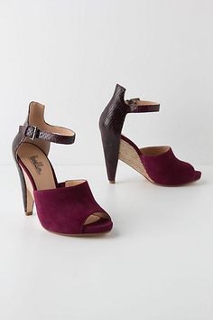 Lamia Inlay Pumps #anthropologie