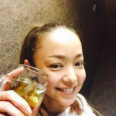なんと、初日ゲットン‼️‼️ というわけで、華金に祝杯あげました♡♡♡♡ #安室奈美恵