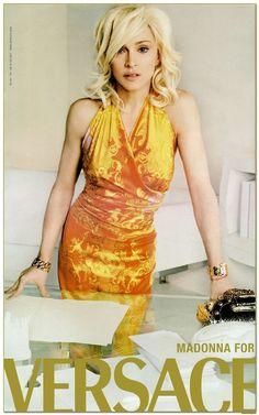 Madonna – Versace 2005 – Photos by Mario Testino
