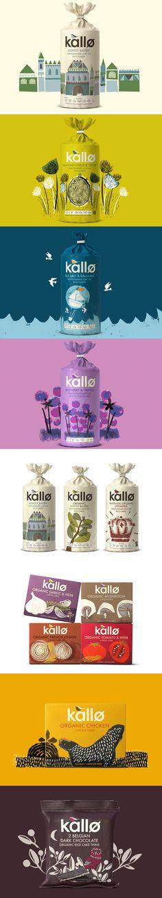 Kallo Branding, Graphic Design, Packaging   by BigFish