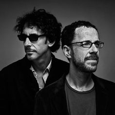 The Coen brothers. (Photo: Nicolas Guerin) Joel Coen and Ethan Coen are Academy Award winning American film directors, screenwriters, and producers. The brothers write, direct and produce their films jointly. Best Director, Film Director, Great Films, Good Movies, Joel And Ethan Coen, Coen Brothers, Brothers Movie, Fritz Lang, The Big Lebowski