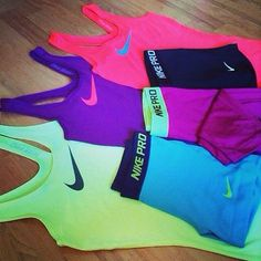 Love and want. I can't wait till I move somewhere sunny all the time like CALIFORNIA so I can look cute and run everyday
