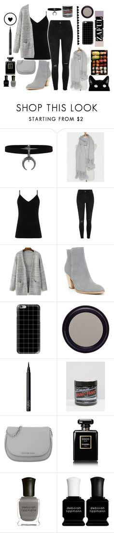 """""""Zaful - Casual Style"""" by mermaidmystic ❤ liked on Polyvore featuring Diane Von Furstenberg, River Island, Donald J Pliner, Casetify, Real Purity, NARS Cosmetics, Manic Panic NYC, Michael Kors, Chanel and Deborah Lippmann"""