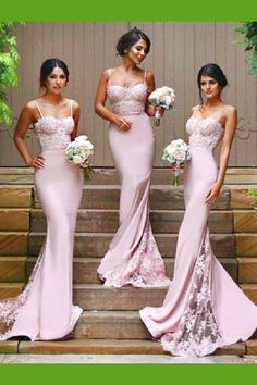 ac010bcb66f3 Bridesmaid Dress Pink, Bridesmaid Dress Mermaid  BridesmaidDressPink   BridesmaidDressMermaid Bridesmaid Dresses 2018 Brautjungfern Kleider