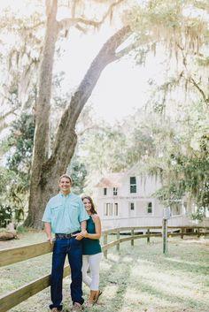 Alpine Groves Engagement | St. Augustine Wedding Photographer  Daybreak Photo Co