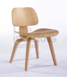 Plywood Dining Chair with Wood Legs - Century's Best Design Made Affordable After years of experimentation with the medium, the original Plywood Dining Chair design was . Small Leather Chairs, Upholstered Swivel Chairs, Wayfair Living Room Chairs, Cheap Chairs, Patio Chair Cushions, Furniture Market, Furniture Websites, Wholesale Furniture, Plywood Furniture