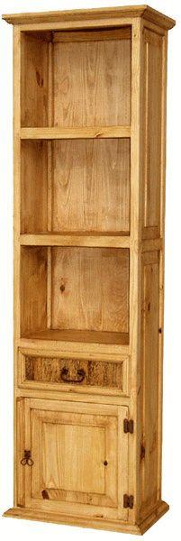 San Miguel Rustic Bookcase